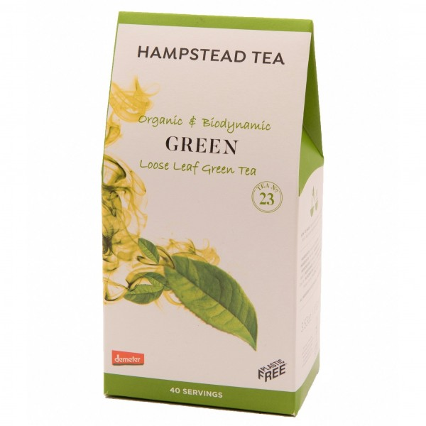Hampstead: Organic Green Tea, loser Tee