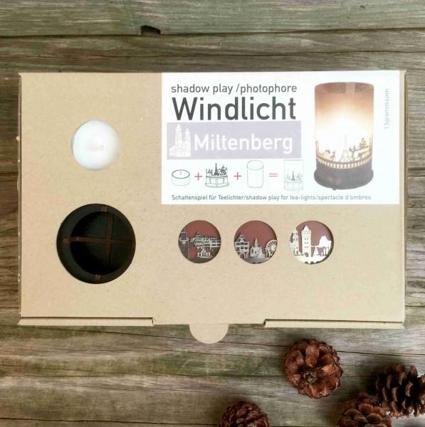 Windlicht Miltenberg: Miltenberg Silhouette