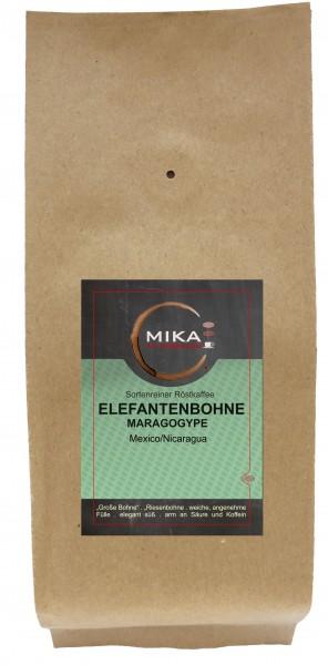 sortenreiner Röstkaffee Elefantenbohne Maragogype
