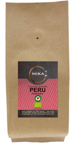 sortenreier Röstkaffee BIO Peru Tunki