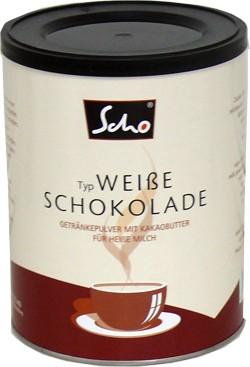 Weiße Schokolade, Trinkschokolade