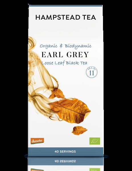 Hampstead: Divine Earl Grey Organic Black Tea, loser Tee