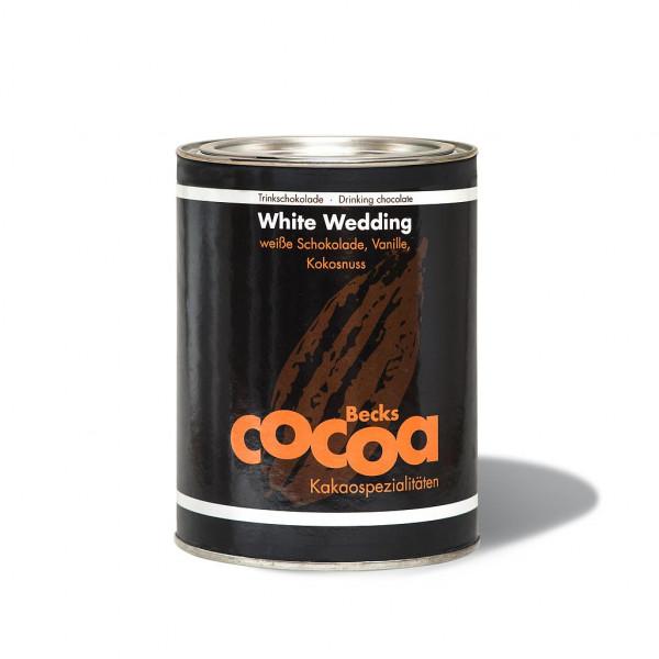 Becks Cocoa White Wedding