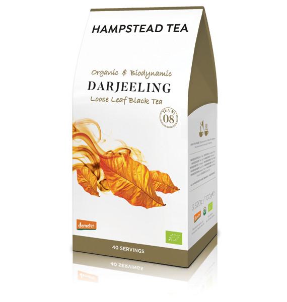 Hampstead: Organic & Biodynamic Darjeeling Tee, loser Tee