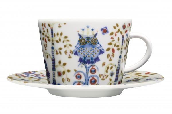 Iittala: Taika, Kaffeetasse mit Untertasse.