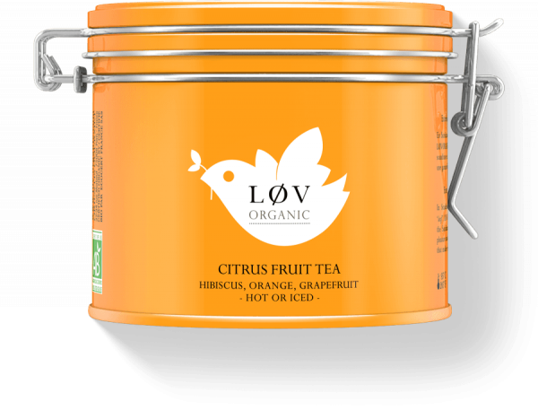 LOV: Citrus fruit tea