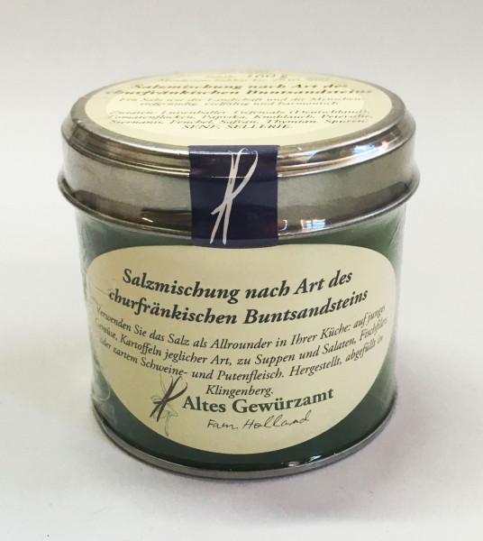Salzmischung nach Art des churfränkischen Buntsandsteins