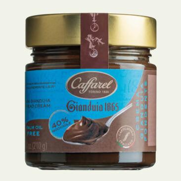 Schokoladencreme Gianduia Caffarel, Italien, Zartbitter