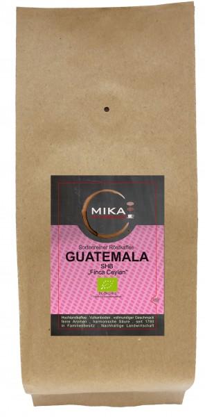 sortenreiner Röstkaffee BIO Guatemala SHB